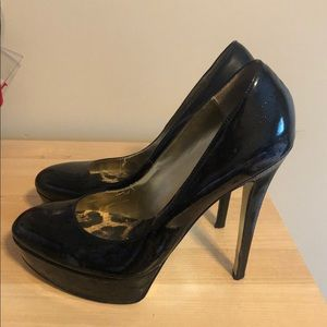Black pumps- 5 inches heel